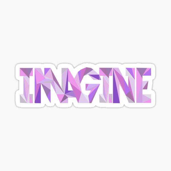 Imagine (Dragons) Sticker