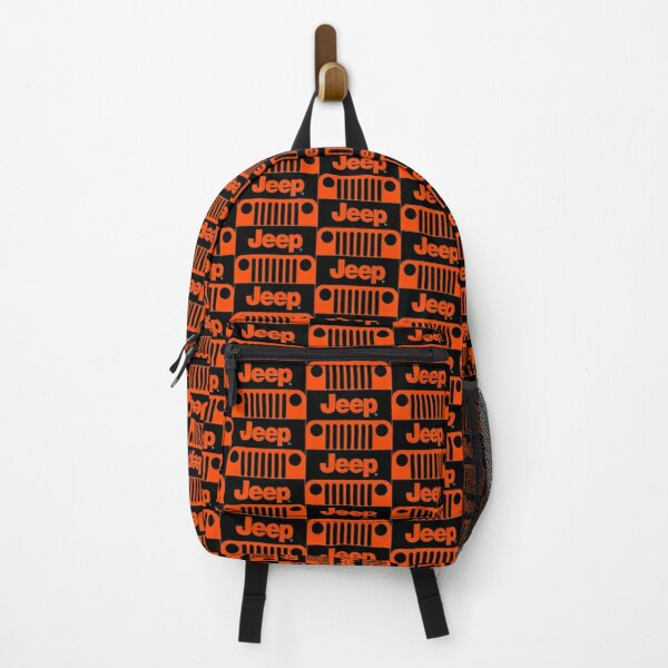 Jeep Grill (orangered) Backpack