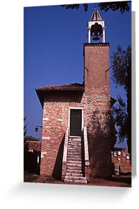 Campanile Torcello by Maggie Hegarty