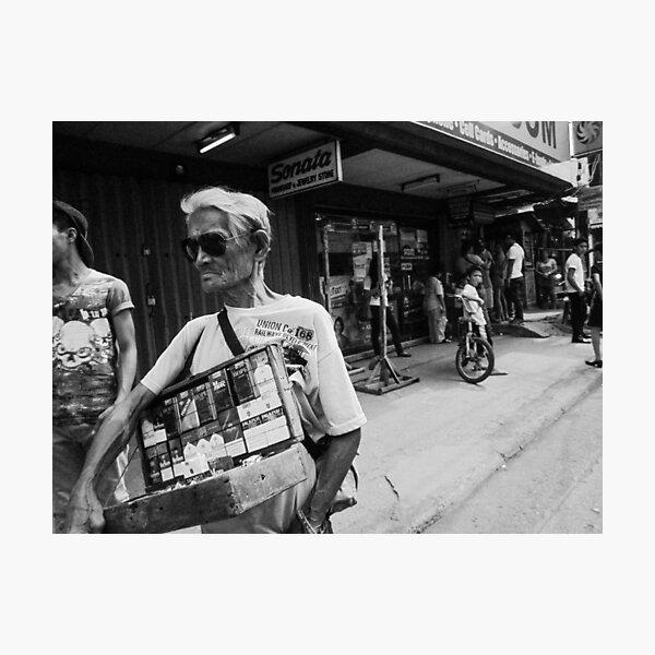 cigarette vendor Photographic Print