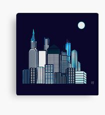 ABSTRACT CITYSCAPE TRES Canvas Print