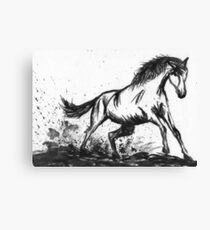 Ink horse Canvas Print
