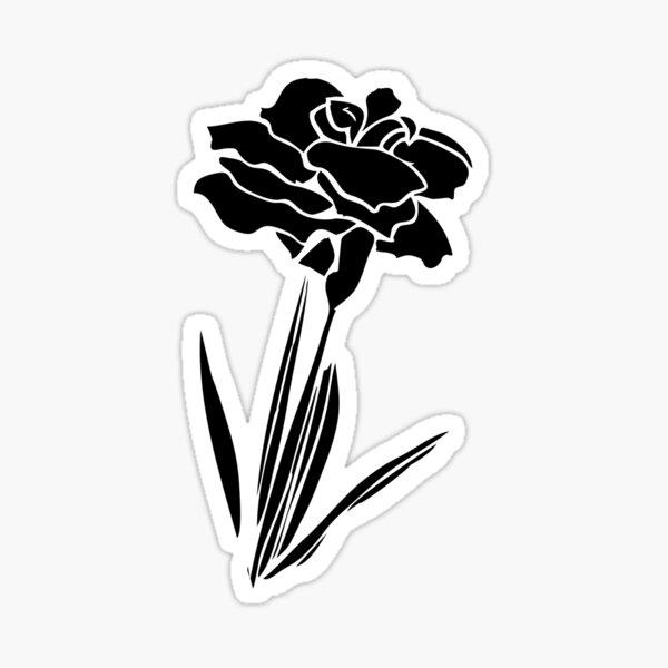 Flower Stamps Sticker