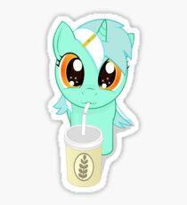 Drinking MLP  Sticker