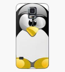 Tux illustration  Case/Skin for Samsung Galaxy