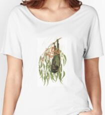 Forest Superstar, Black Flying-fox Women's Relaxed Fit T-Shirt