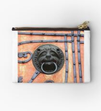 Gate or Door Handle of middle Ages in Germany Studio Pouch