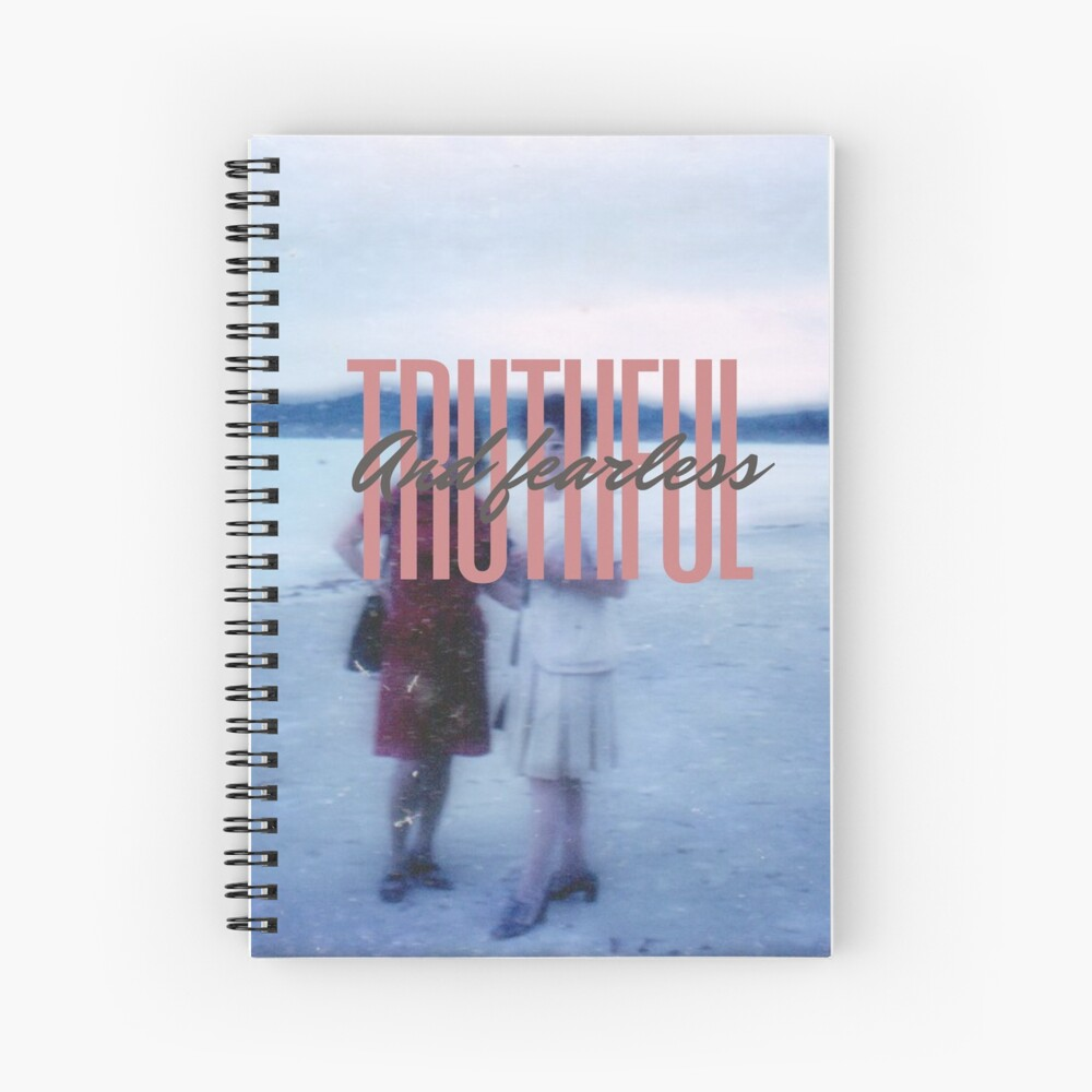 Truthful and Fearless Spiral Notebook