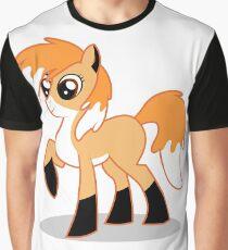 Orange MLP fox Graphic T-Shirt