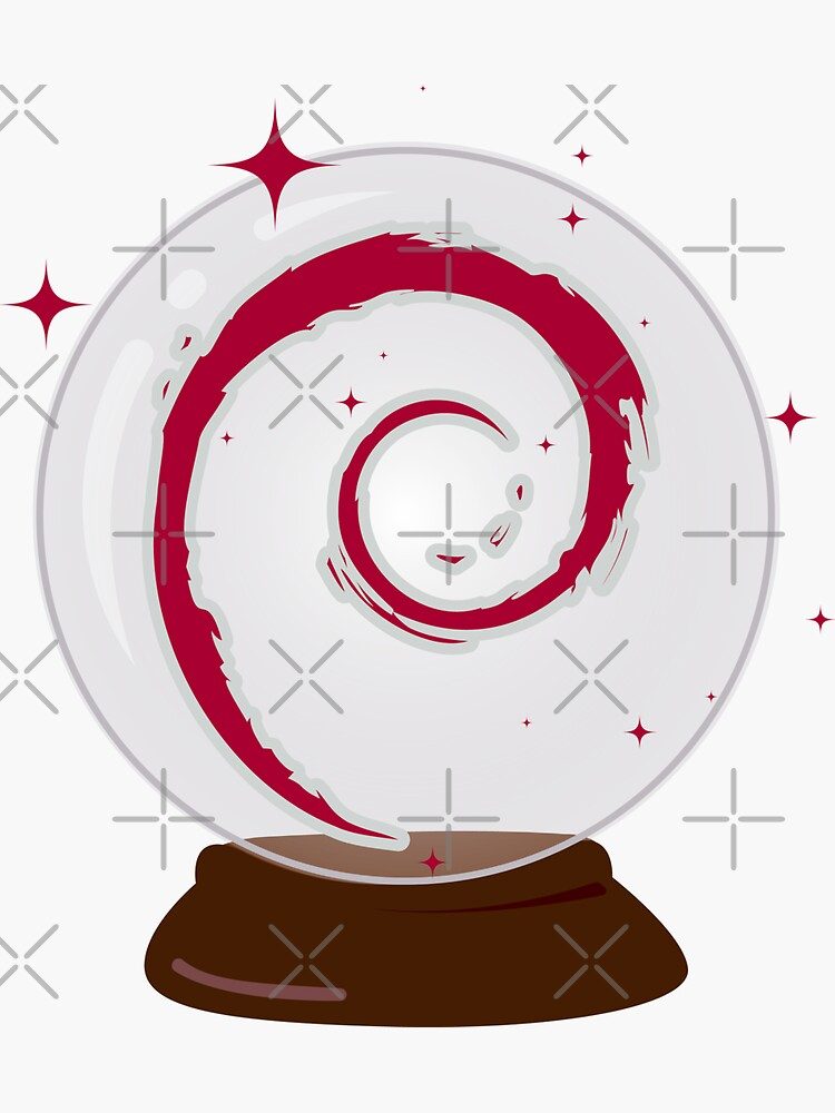 Debian Crystal Ball by brainthought
