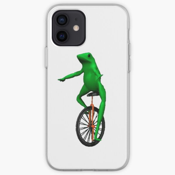 Dat Boi - Unicycle Frog iPhone Soft Case