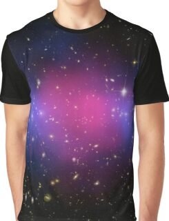 Galaxy Cluster MACS J0025.4-1222 Astronomy Image Graphic T-Shirt