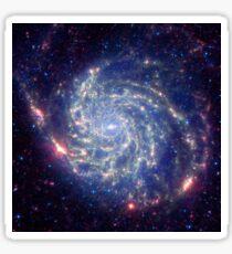Messier 101 Spiral Galaxy Astronomy Image Sticker