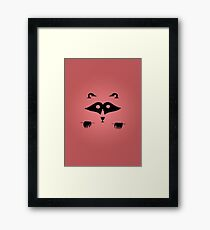 Red Thief Framed Print