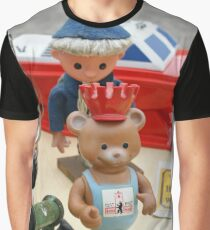 Sandman and Teddy Bear from East Germany `DDR` Graphic T-Shirt