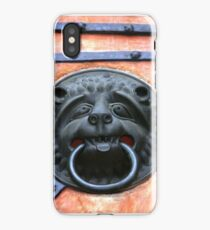 Middle Ages door handle, gate in Germany iPhone Case