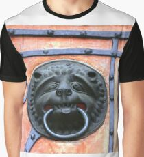 Middle Ages door handle, gate in Germany Graphic T-Shirt