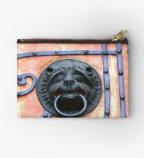 Middle Ages door handle, gate in Germany Studio Pouch