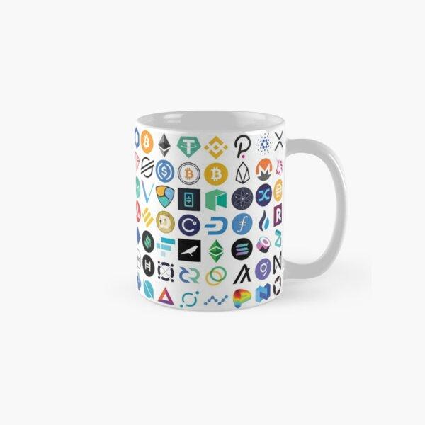 Crypto Logos Classic Mug