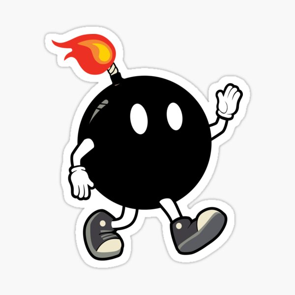Boom Guy Sticker