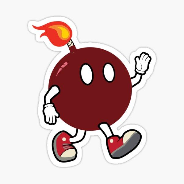 Cherry Boom Dude Sticker