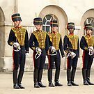 Soldiers of the Queen. The Queens Life Guard in London by Remo Kurka