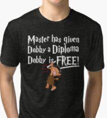 Dobby Graduate- No year Tri-blend T-Shirt