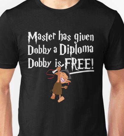 Dobby Graduate- No year Unisex T-Shirt