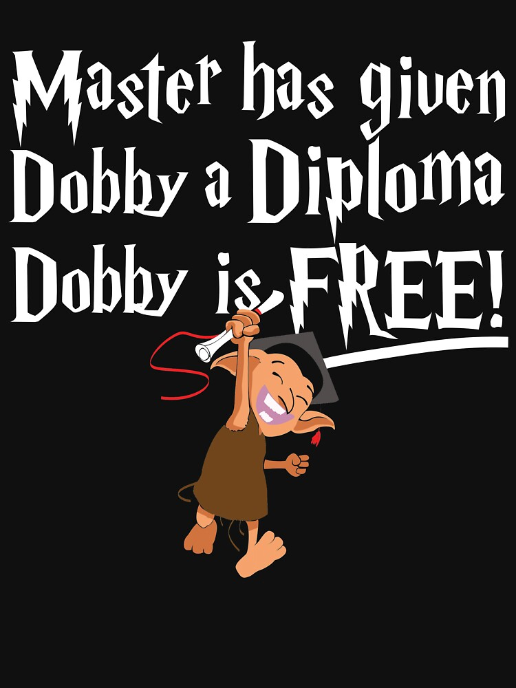 TShirtGifter presents: Dobby Graduate- No year | Unisex T-Shirt