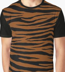 0605 Saddle Brown Tiger Graphic T-Shirt