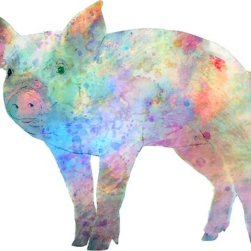 Cosmic Pig by SpartanArt