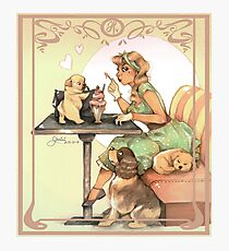 Puppies time Photographic Print