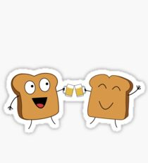 Giving A Toast Sticker