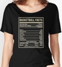 Basketball facts girlfriend Women's Relaxed Fit T-Shirt
