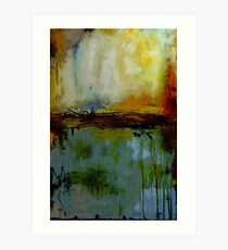 Abstract composition 94 Art Print