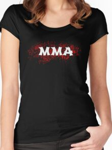 MMA  Women's Fitted Scoop T-Shirt