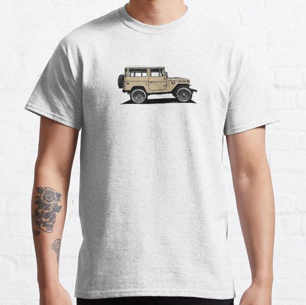 Toyota FJ40 Land Cruiser Dune Beige Classic T-Shirt