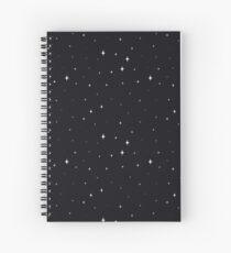Starry Spiral Notebook