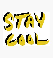 Stay Cool y&b Photographic Print
