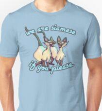 Chats siamois T-shirt unisexe