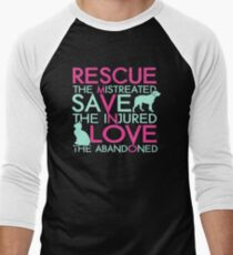 Rescue save love dog and cat T-Shirt