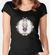 The Skeleton Women's Fitted Scoop T-Shirt