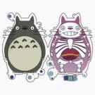 Totoro anat redo by MATTHEW PAAS