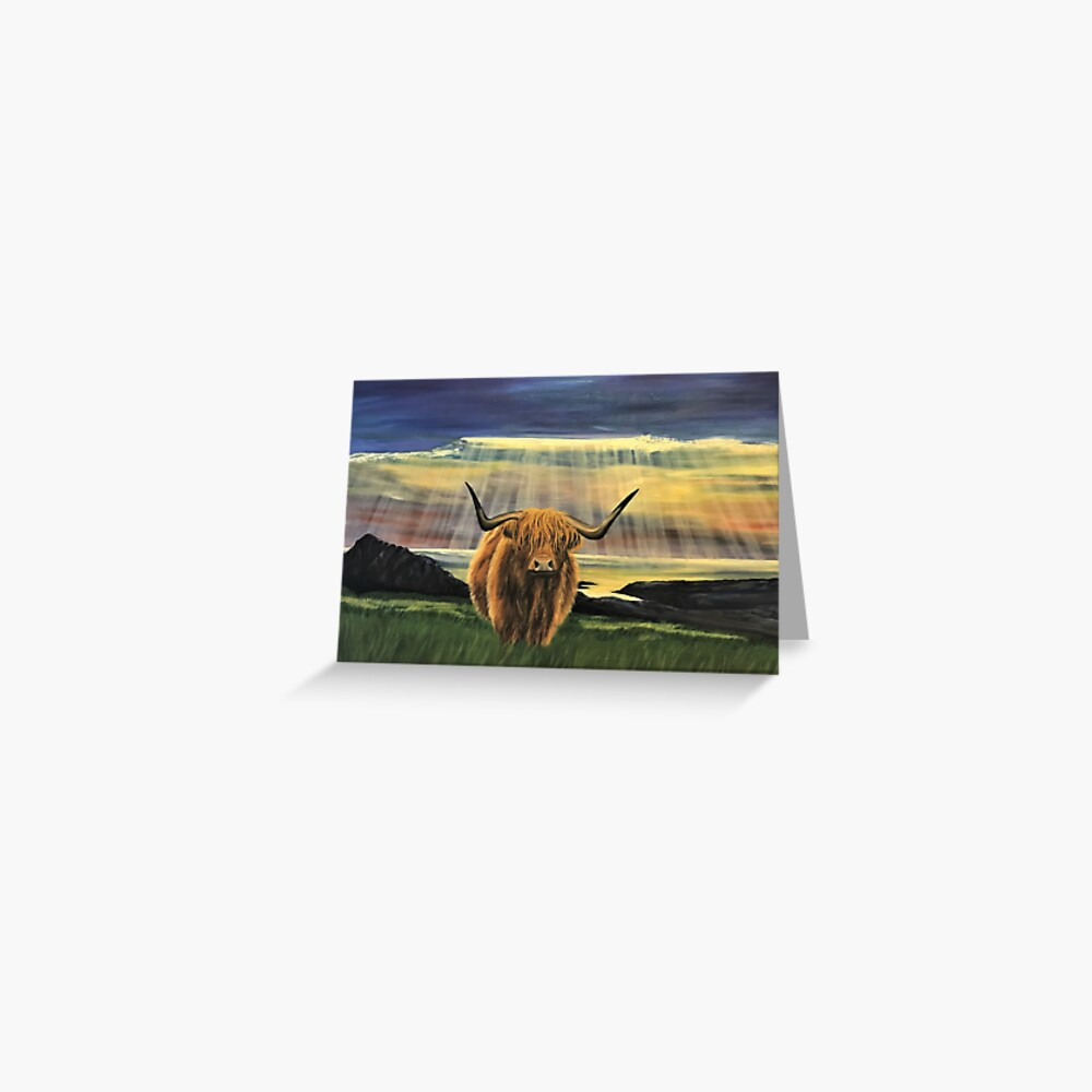 Basking in Sunshine - Blank Greeting Card Greeting Card
