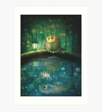 Crown Prince Art Print
