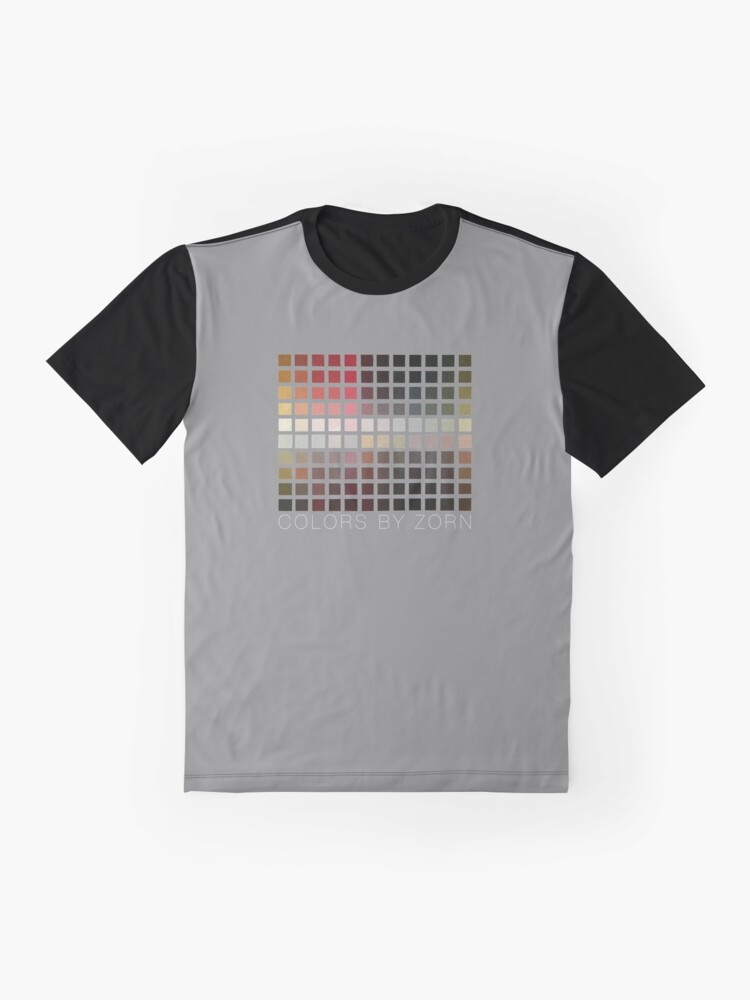 Alternate view of COLORS BY ZORN Graphic T-Shirt