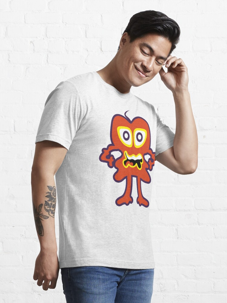 Alternate view of Funny Monster Crazy Face Colorful Funny Monster Cute Monster  Essential T-Shirt