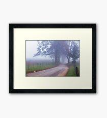 A Sparks Lane Morning Framed Print