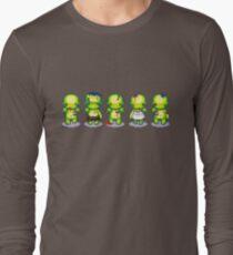 The Zombie Hoard Long Sleeve T-Shirt