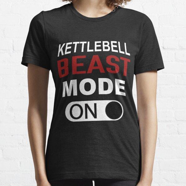 Kettlebell Beast Mode On Essential T-Shirt